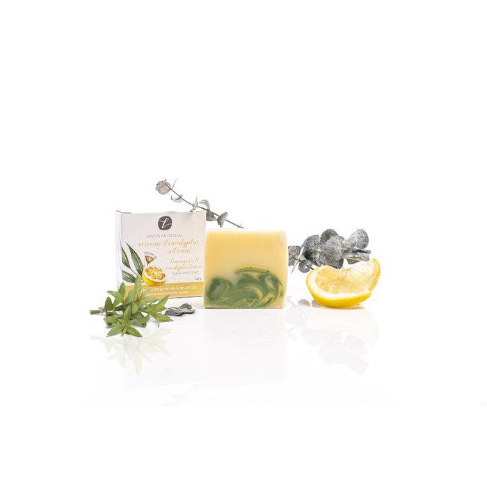 Savon verveine et eucalyptus citronné