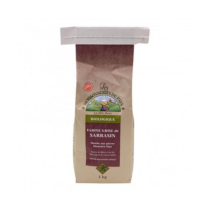 Farine de sarrasin grise bio 1kg