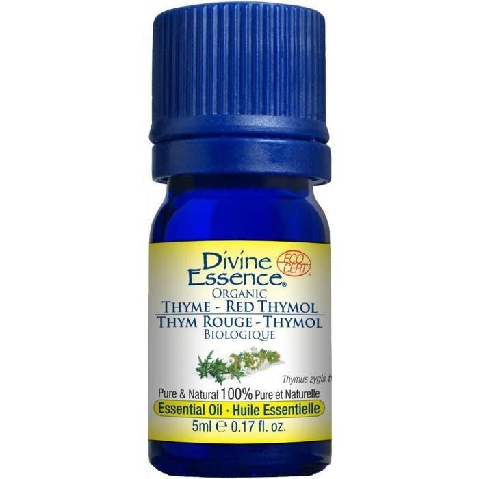 Huile essentielle Thym Rouge bio (Thymus zygis thymol) 5 ml