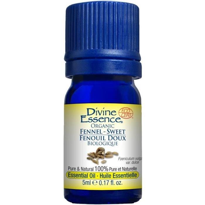 Huile essentielle Fenouil Doux bio (Foeniculum vulgare var. dulce) 5 ml