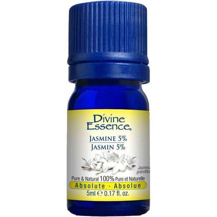 Huile essentielle Jasmin Absolue 5% (Jasminum grandiflorum) 5 ml