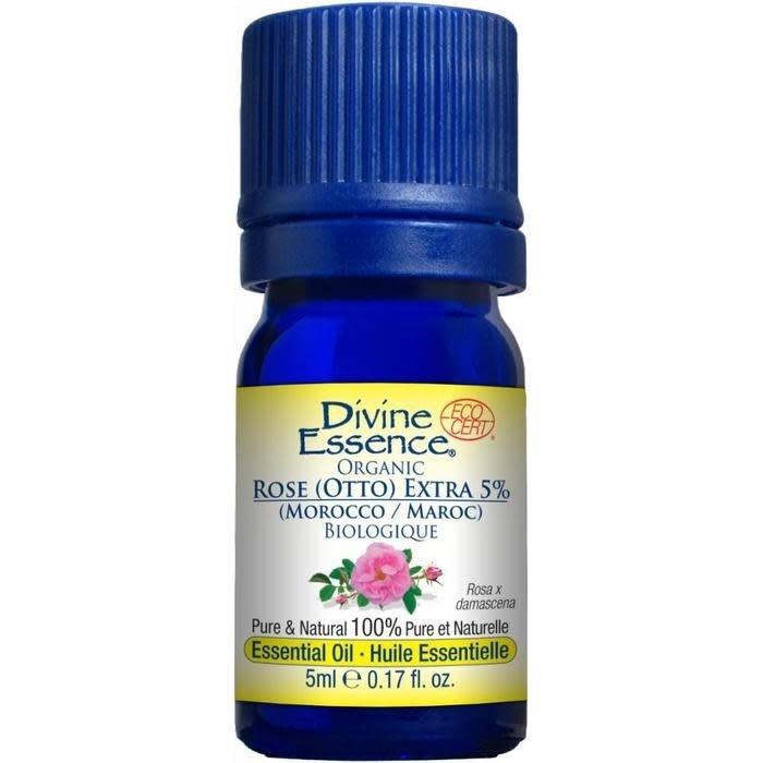 Huile essentielle Rose Otto Extra 5% bio (Rosa x damascena) 5 ml