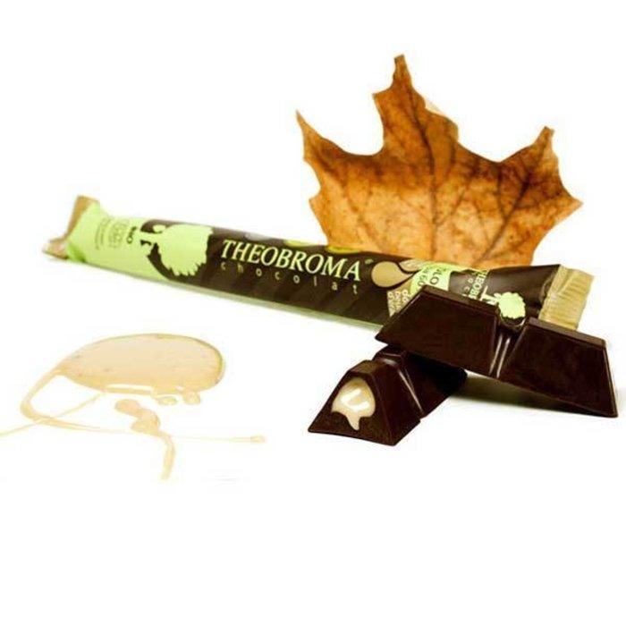 Barre chocolat noir doux beurre d'erable 60% 35g (saisonnier)