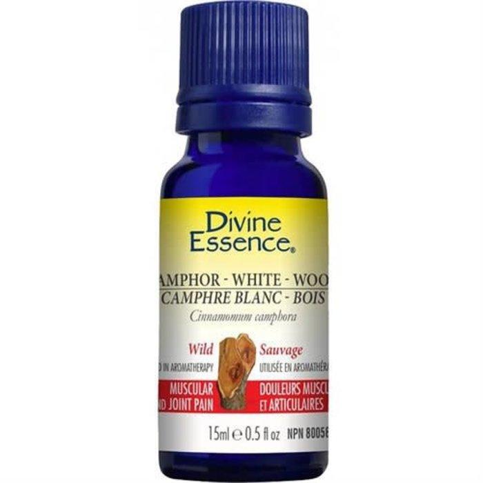 Huile essentielle Camphre Blanc Bois sauvage (Cinnamomum camphora) 15 ml