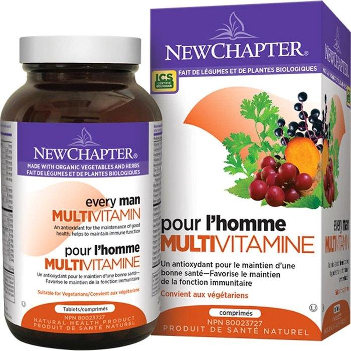 Multi vitamine,  Une par jour homme 72 capsules