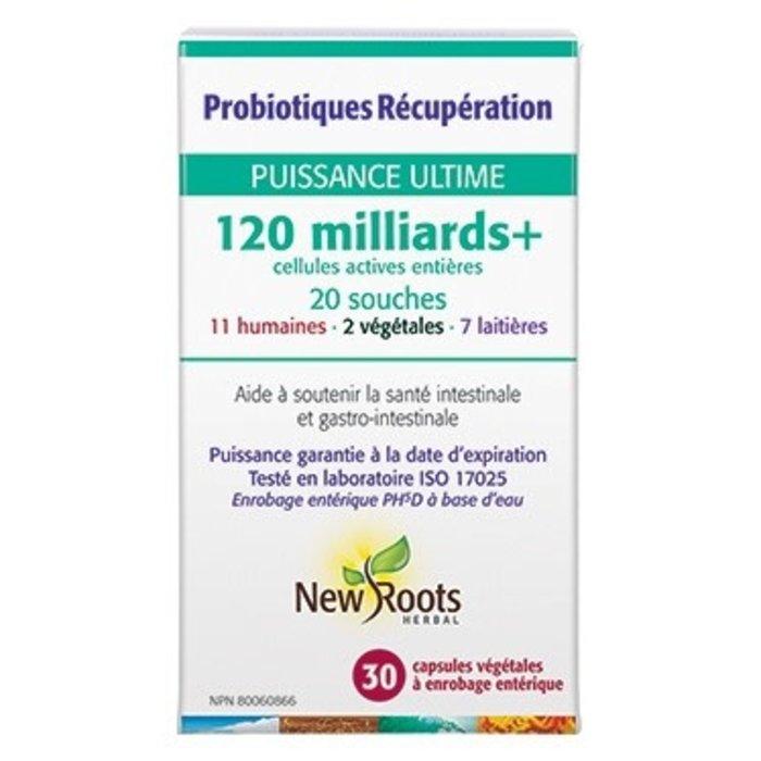 Probiotiques Récupération 120milliards 30 caps.