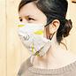 Masque 3 épaisseurs en coton bio et de chanvre
