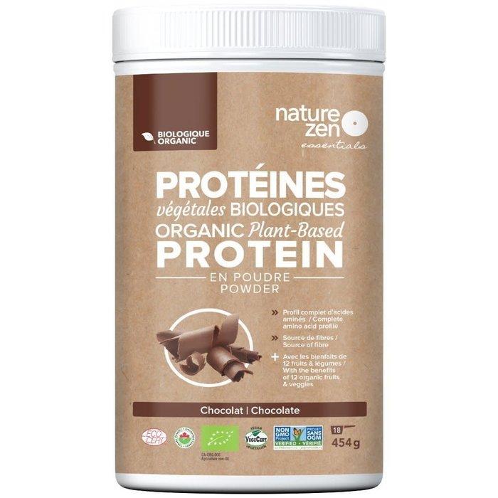 Proteines vege bio - Chocolat  454 g