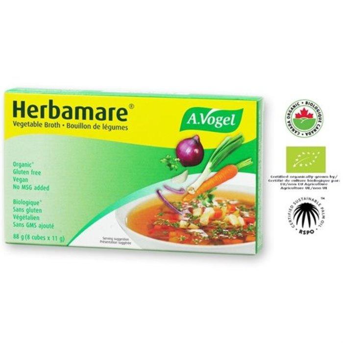 Herbamare bouillon de légumes vegan, faible en sel 76g