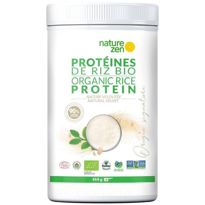 Protéines de riz nature bio