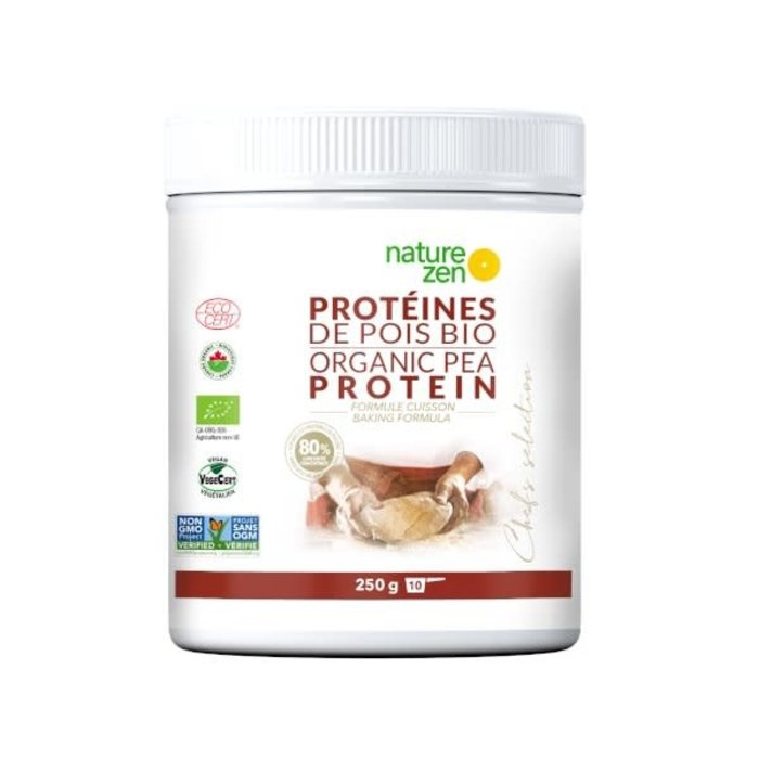 Protéines de pois bio