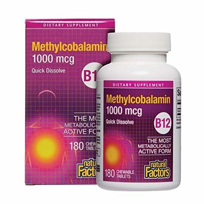 Methylcobalamine 1000 mg 180 capsules