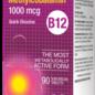 Methylcobalamine 1000 mg 90 capsules