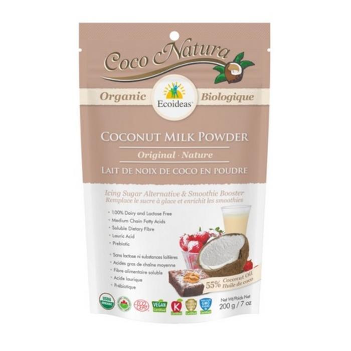 Poudre de lait de noix de coco bio 200g