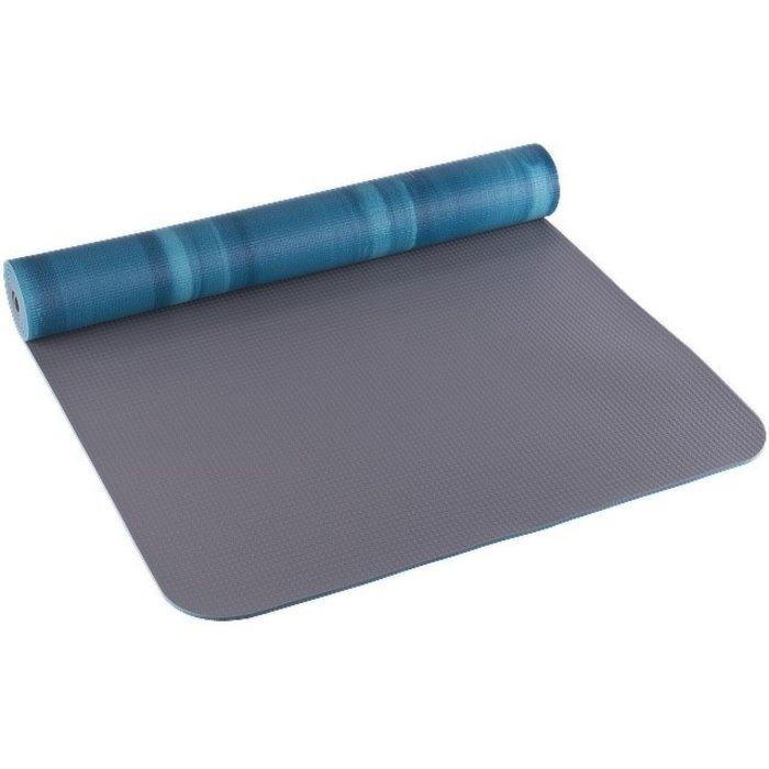 Tapis de yoga Tourbillon bleu