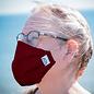 Masque barriere en tissu avec armature, couleurs variées