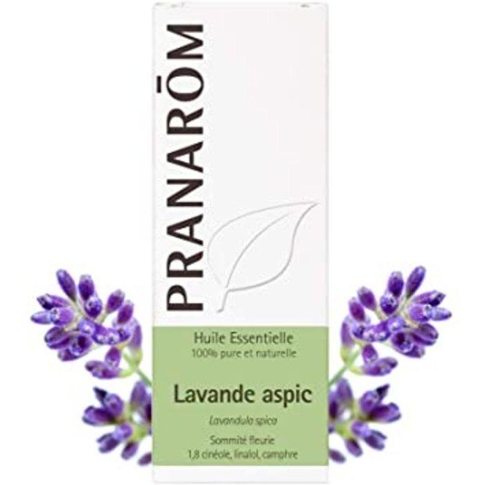 Huile essentielle Lavande aspic 10ml (Lavandula latifolia spica – Sommité en fleurs)