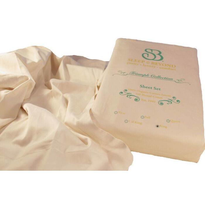 Draps de coton certifié biologique