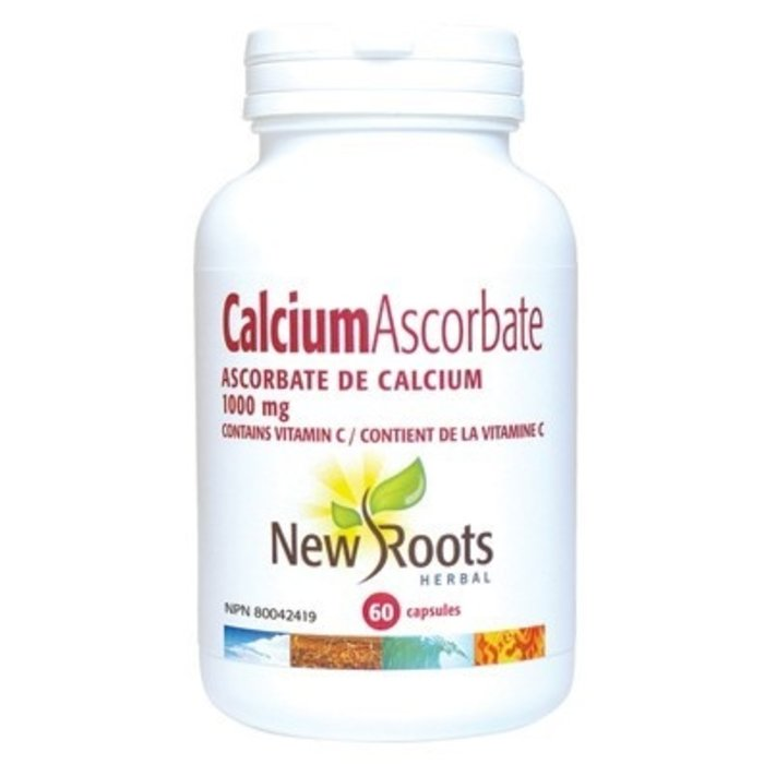 Ascorbate de calcium 1000mg 60 capsules