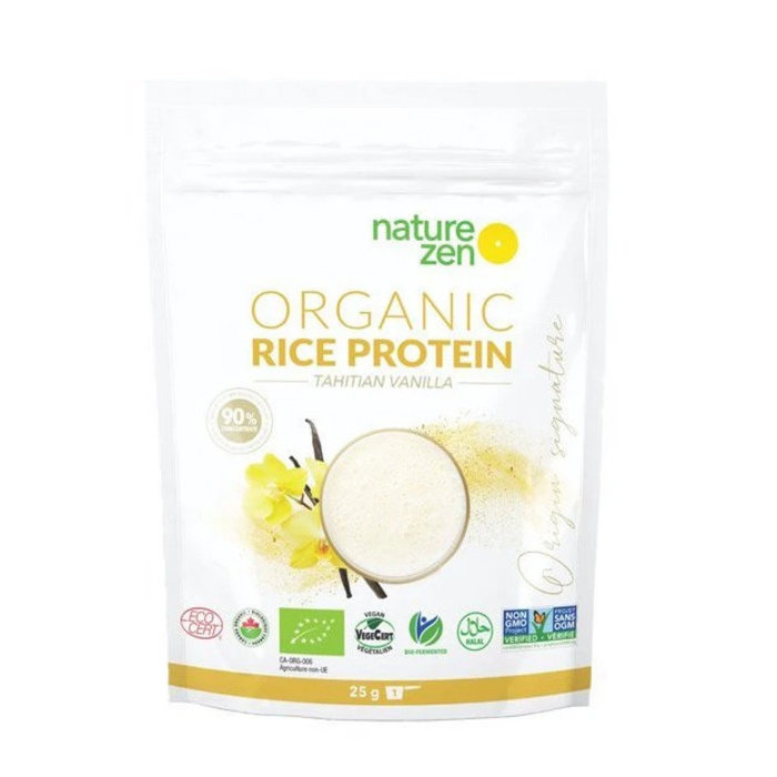 Protéines de riz bio vanille tahitienne 20g