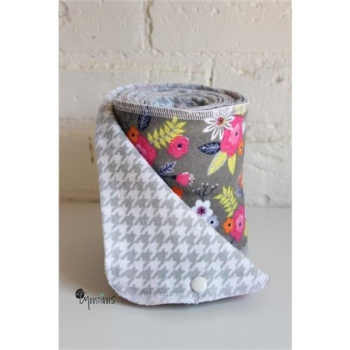 Papier hygiénique lavable, 15feuilles/rouleau