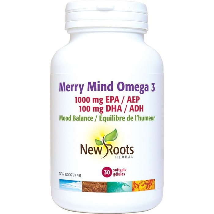 Merry Mind Omega-3 1000MG 30 Gélules