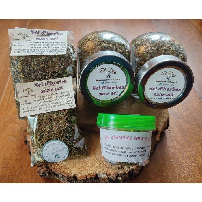 Sel d'herbes sans sel, 40g