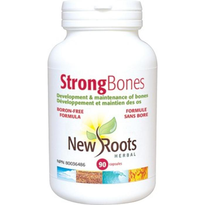 Strong Bones Formule sans bore 90 capsules