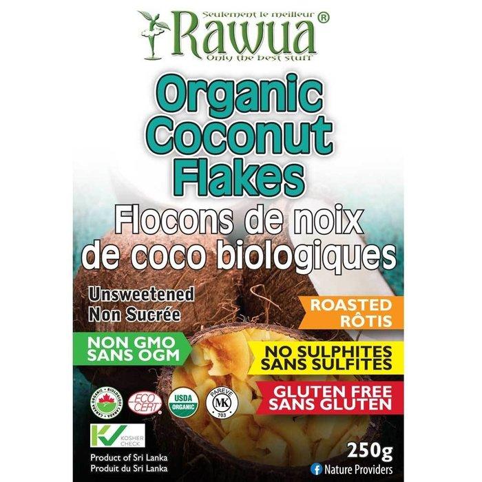 Flocons de coco biologique rotis 250g