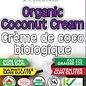 Crème de coco  bio 22% gras, 400ml