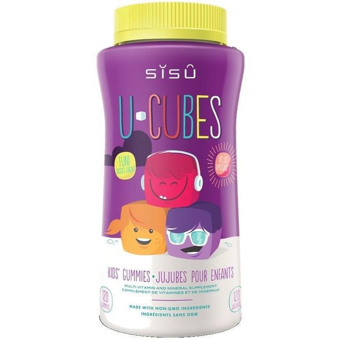 Multivitamines pour enfants U-Cubes (120 jujubes)