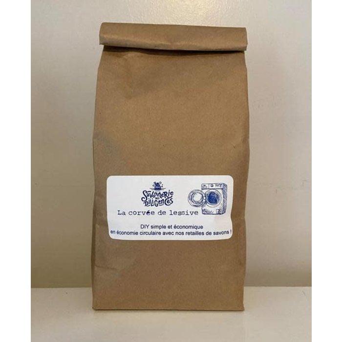 Lessive La Corvée DIY (sac compost) 1050g