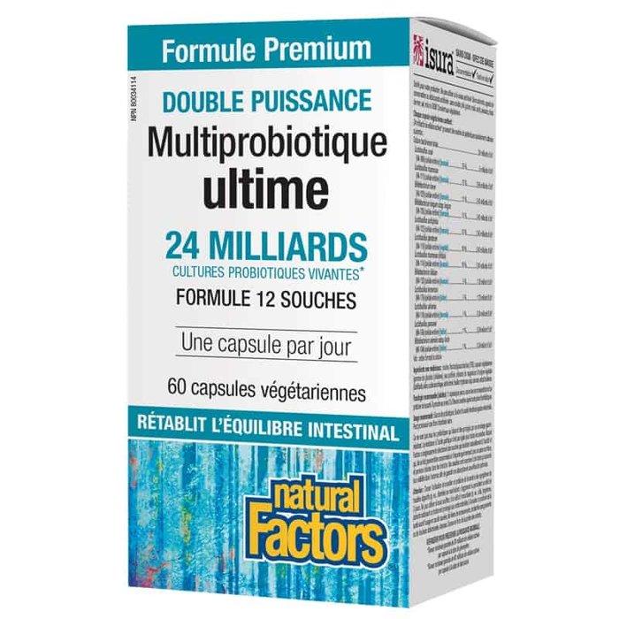 Multiprobiotique ultime 60 capsules