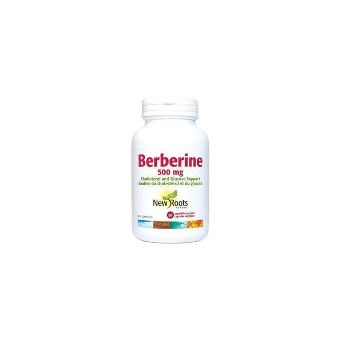 Berberine, 500mg 60 capsules