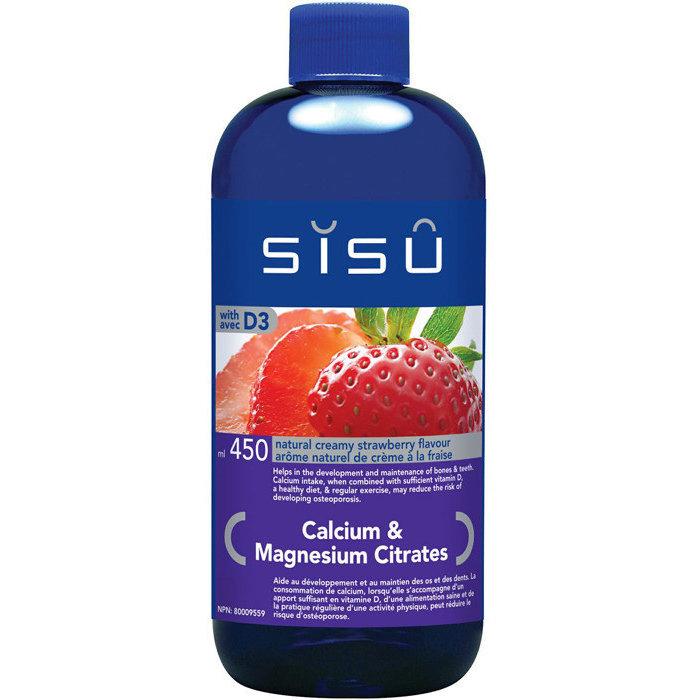 Cal-Mag citrates liquide 450 ml