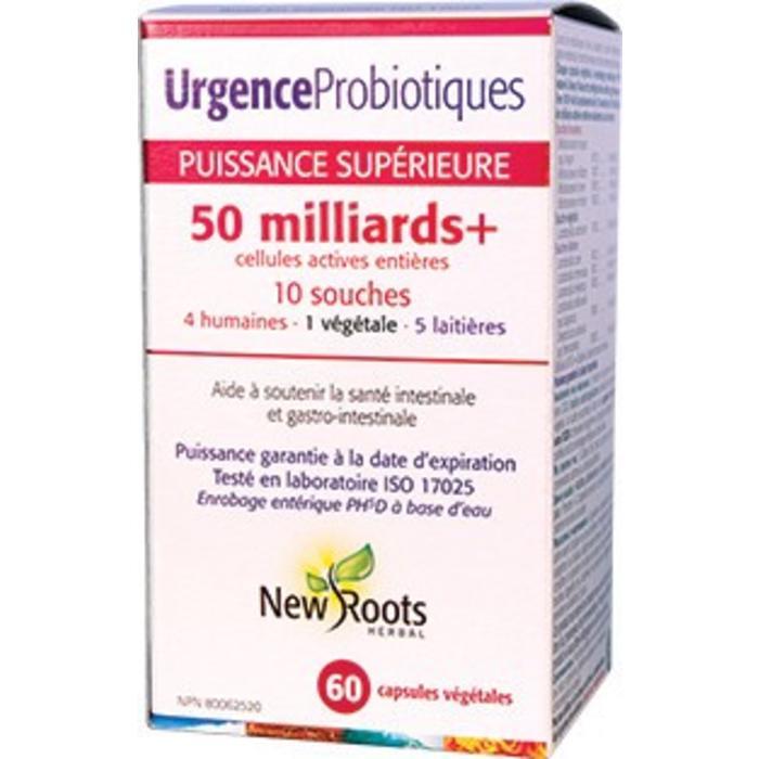 Probiotiques Urgence