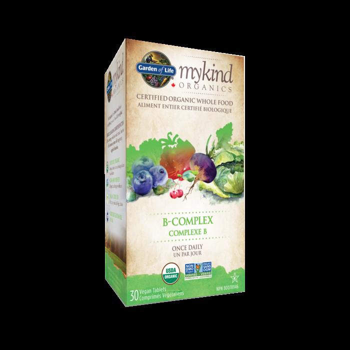 Complexe-B 30 comprimes vegetaliens