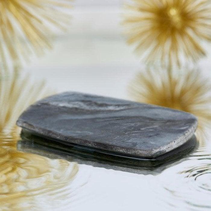 Porte savon en marbre