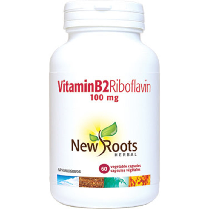 Riboflavine (B2) 100mg 60 capsules