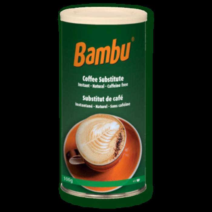 Bambu, substitut de cafe