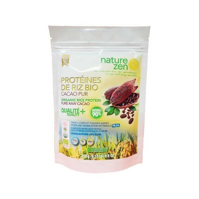 Protéines de riz cacao bio