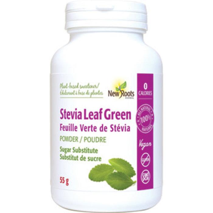 Feuille verte de Stevia poudre 55g