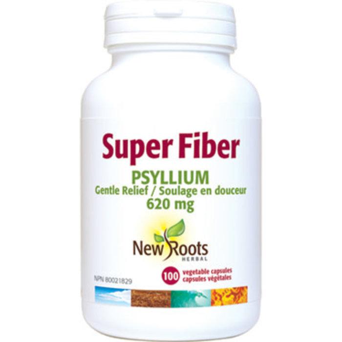 Super fibre Psyllium 620mg, 100 capsules