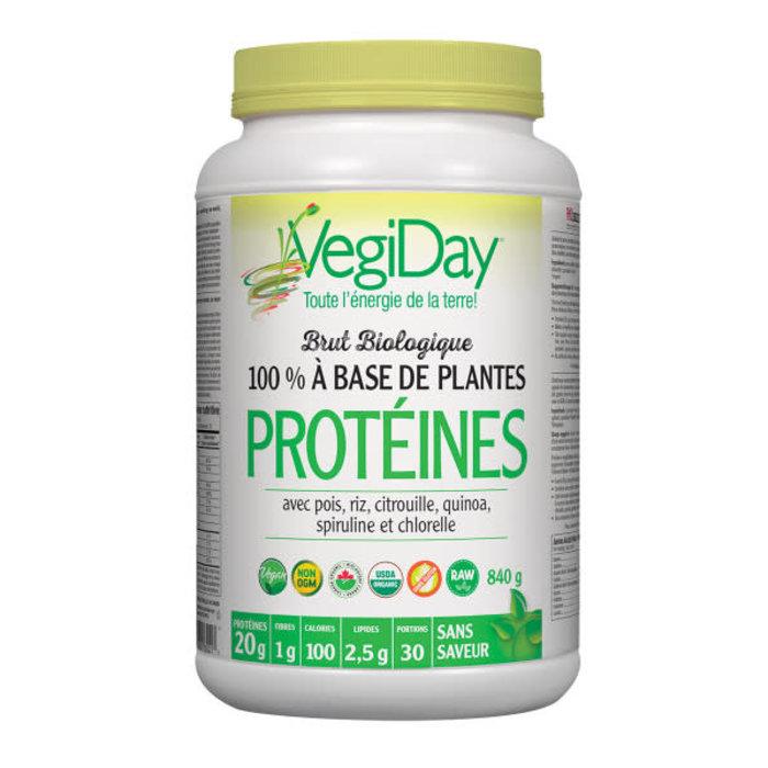 Protéine végétalienne bio sans saveur tout-en-un  720g