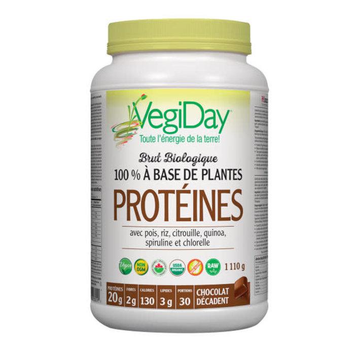 Protéine végétalienne bio tout-en-un 900g Chocolat