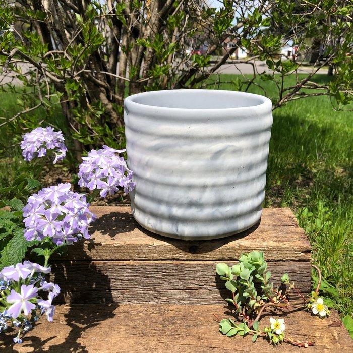 Pot Amethyste 15cm haut x 15cm large