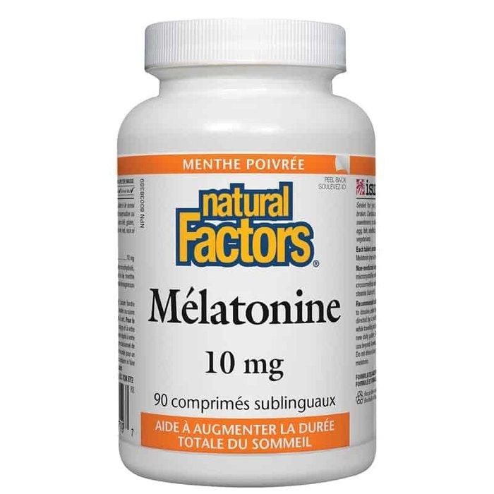 Melatonine 10mg, 90 comprimes sublinguaux