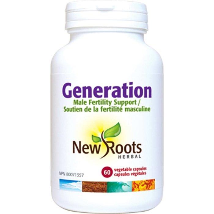 Génération (fertilité masculine) 60 capsules
