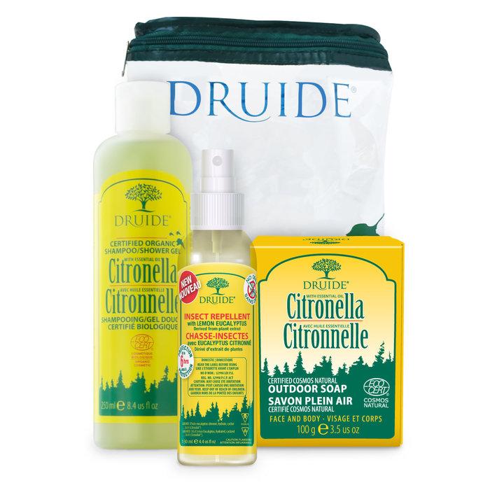 Trousse Aventure Citronnelle (shampoing, lotion, savon)