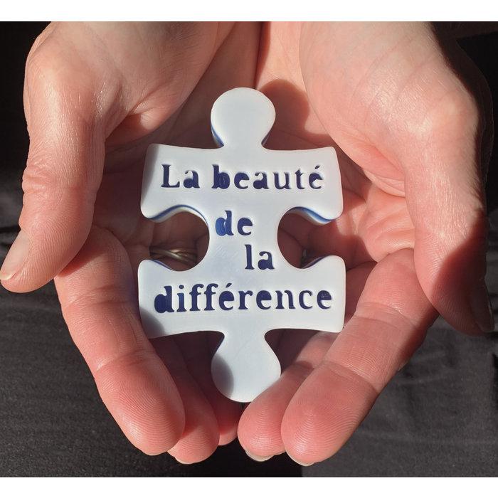 Savon beaute de la difference, tangerine, $2.00 remis Fondation Autisme